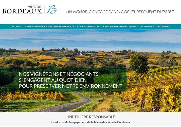 Les vins de Bordeaux cartographient leurs bonnes pratiques sur internet