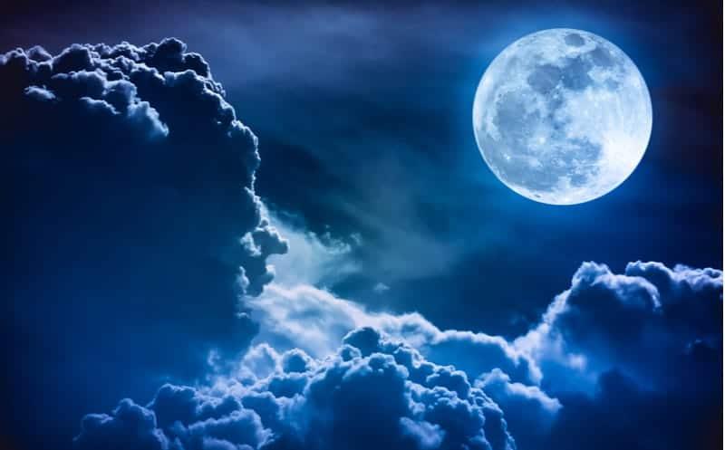 Une Lune bleue va illuminer le ciel