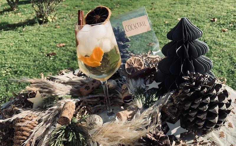 cocktail déco noel